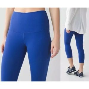Lululemon wunder under high rise crops